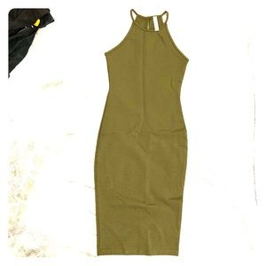 NWOT Olive Fashion Nova Midi Dress